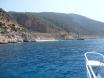Kaputas Beach from Yildiz 2