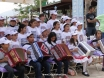 School children giving mini concert at Kapsa Spring Fair