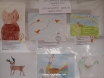 Entries for Kapsa's painting competition at Kalkan school