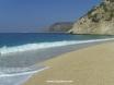 The beach was packed at Kaputas!