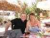Anne & Steve - Lunch at Adam's - Aug 2011