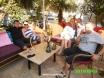 Cafe Ev with Kirsty & Tom......Antler having a rare drink...