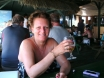 Mrs A at Patara Beach Cafe - June 2012