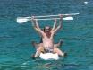 Tom & Bex at Kalamar Beach Club - June 2012