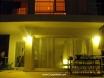 villa kismet at night
