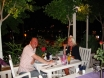 Dining at 'Aubergines' Kalkan