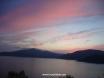 Sun set over Kisla Bay