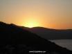 Sun setting - view from Kisla Bay