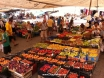 Fruit stalls at the Thursday Market in Kalkan