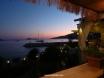View from kaptan restaurant at sunset