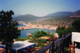 Patara Pension rooftop with views across the bay