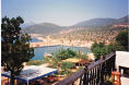 View from Patara rooftop (Now Korsan Fish Terrace)